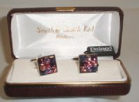 'Bling Cufflinks' - Square
